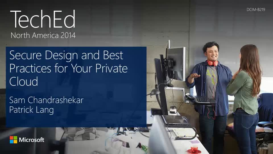Secure Design and Best Practices for Your Private Cloud