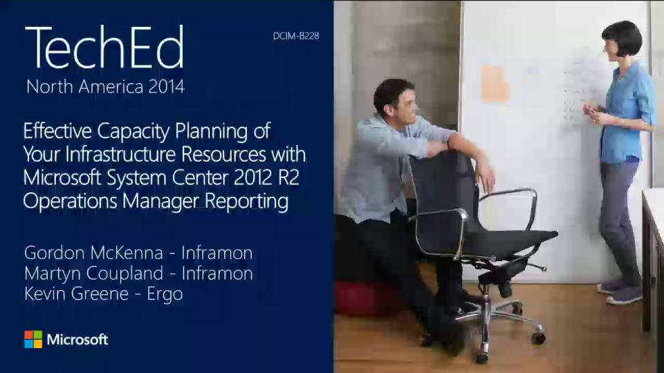 Effective Capacity Planning of Your Infrastructure Resources with Microsoft System Center 2012 R2 Operations Manager Reporting
