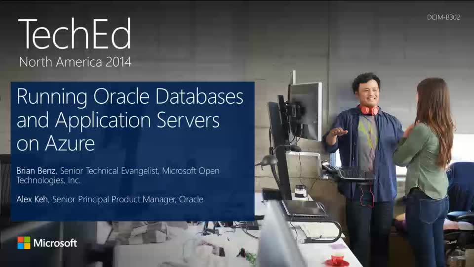Running Oracle Databases and Application Servers on Microsoft Azure