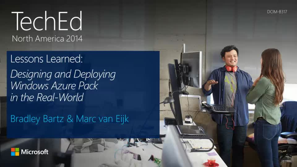 Lessons Learned: Designing and Deploying the Windows Azure Pack in the Real-World