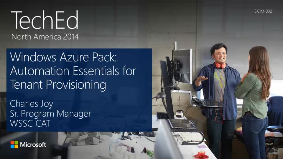 Windows Azure Pack: Automation Essentials for Tenant Provisioning