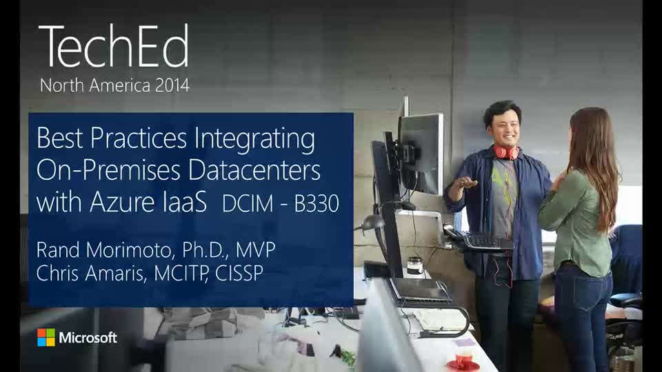 Best Practices for Integrating On-Premises Datacenters with Microsoft Azure IaaS