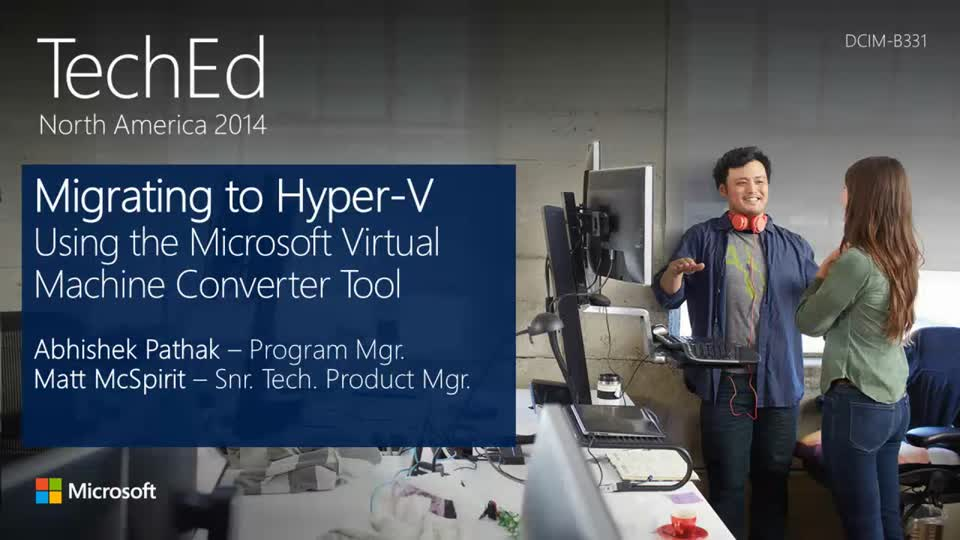 Migrating to Hyper-V Using the Microsoft Virtual Machine Converter Tool