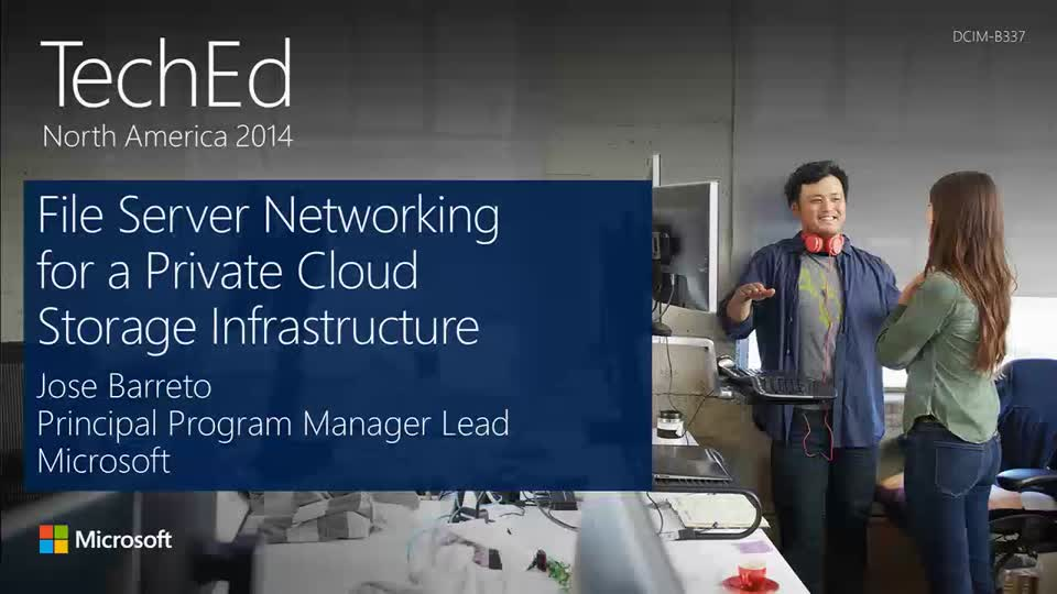 File Server Networking for a Private Cloud Storage Infrastructure in Windows Server 2012 R2