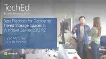 Best Practices for Deploying Tiered Storage Spaces in Windows Server 2012 R2