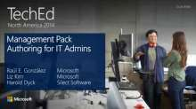 Management Pack Authoring for IT Admins
