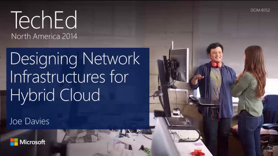 Designing Network Infrastructures for Hybrid Cloud