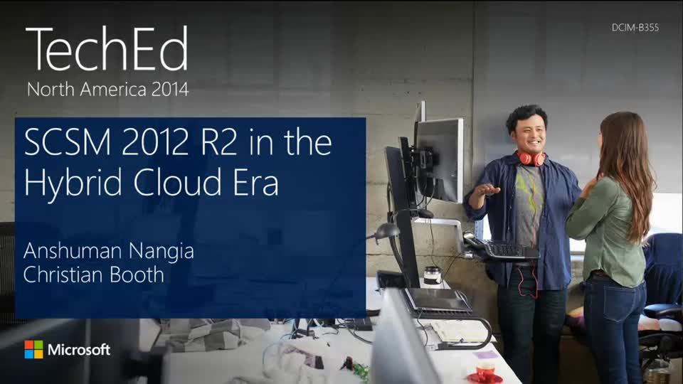 Microsoft System Center 2012 R2 Service Manager in the Hybrid Cloud