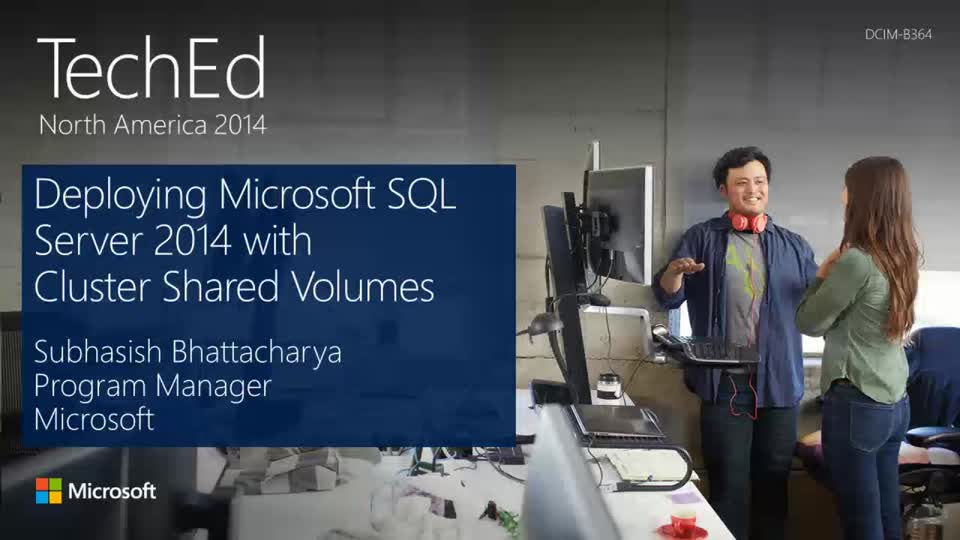 Step-by-Step to Deploying Microsoft SQL Server 2014 with Cluster Shared Volumes