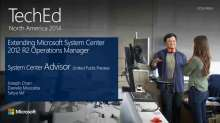 Extending Microsoft System Center 2012 R2 Operations Manager