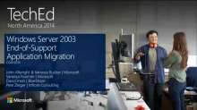 Windows Server 2003 End of Life Migration Planning for Your Workloads