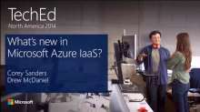 What's New in Microsoft Azure IaaS