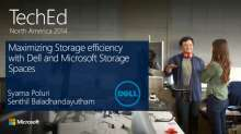 Maximizing Storage Efficiency with Dell and Microsoft Storage Spaces