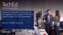 Datacenter Integration Using Service Management Automation in Microsoft System Center 2012 R2 Orchestrator