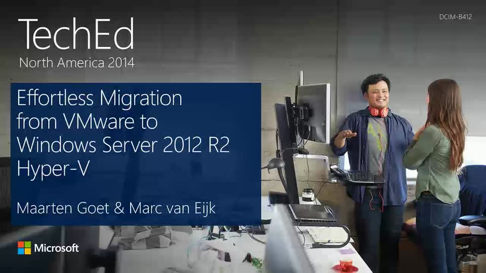 Effortless Migration from VMware to Windows Server 2012 R2 Hyper-V