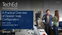 A Practical Overview of Desired State Configuration