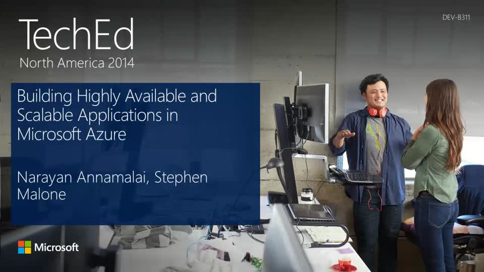 Building Highly Available and Scalable Applications in Microsoft Azure