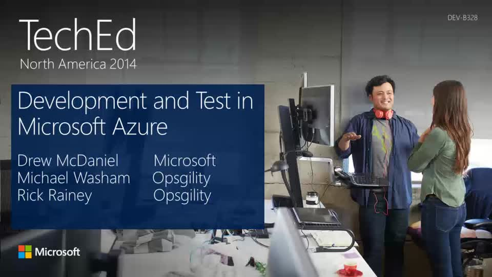 Running Your Dev/Test in Microsoft Azure