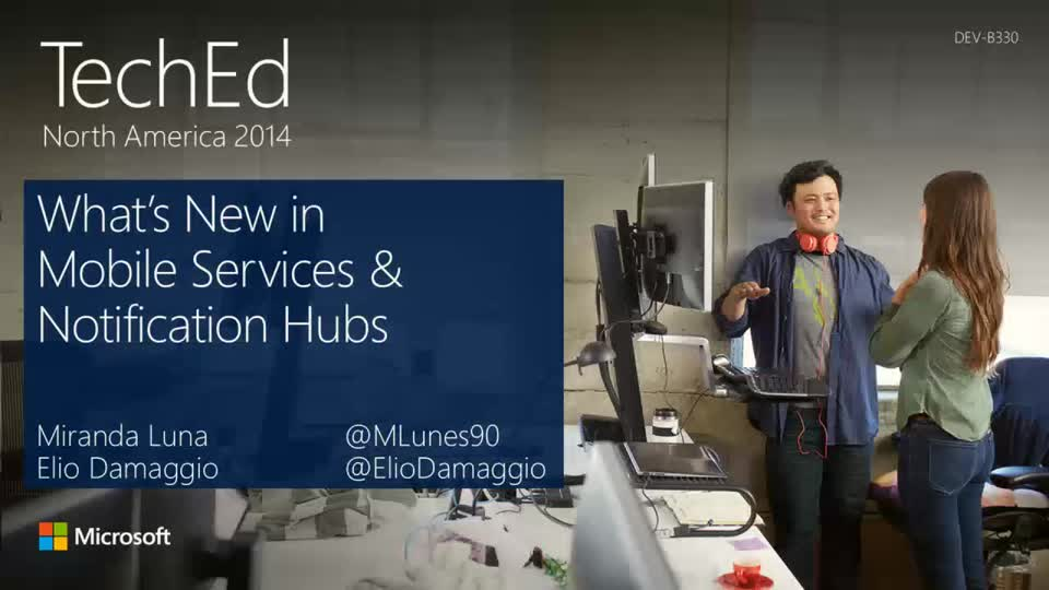 What's New in Mobile Services and Notification Hubs