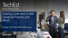Sharing Code and UI with Universal Projects and Windows Library for JavaScript (WinJS)