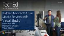 Building Microsoft Azure Mobile Services with Visual Studio