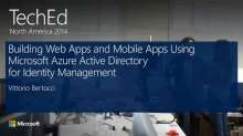 Building Web Apps and Mobile Apps Using Microsoft Azure Active Directory for Identity Management