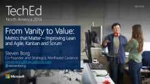 From Vanity to Value, Metrics That Matter: Improving Lean and Agile, Kanban, and Scrum