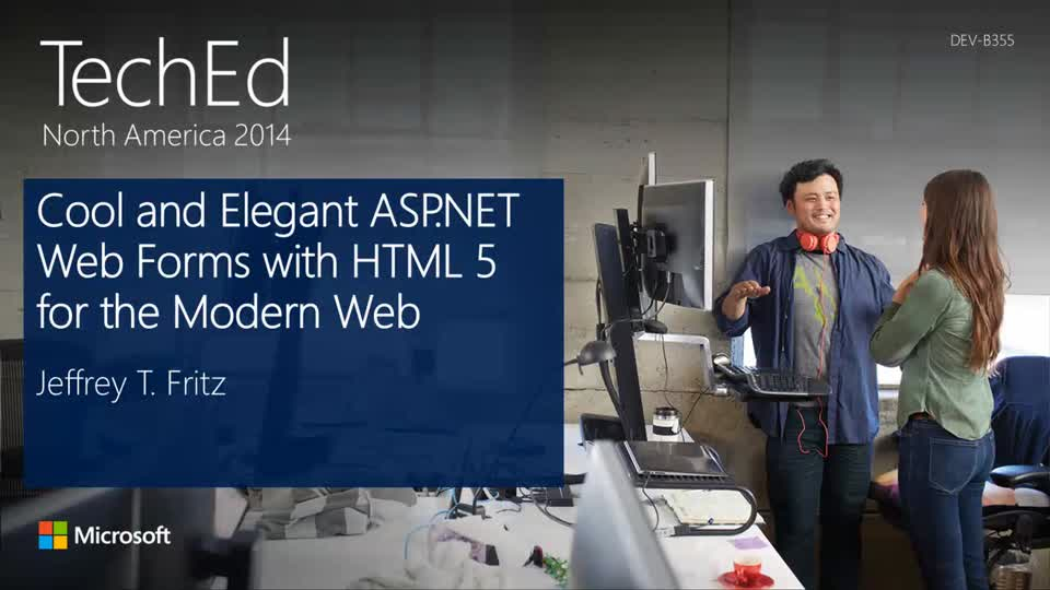 Cool and Elegant ASP.NET Web Forms with HTML 5 for the Modern Web
