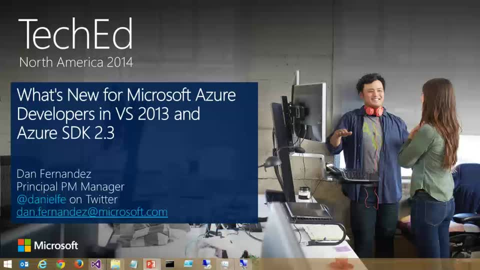 What's New for Microsoft Azure Developers in Visual Studio 2013 Update 2 and Azure SDK 2.3