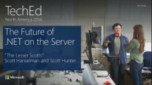 INTRODUCING: The Future of .NET on the Server