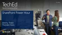 SharePoint Power Hour: New Developer APIs and Features for Apps for SharePoint