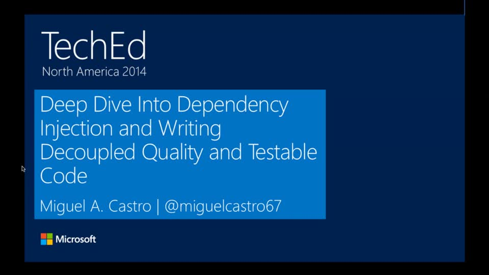 Deep Dive into Dependency Injection and Writing Decoupled Quality Code and Testable Software