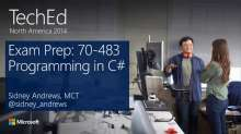 Exam Prep: 70-483 - Programming in C#