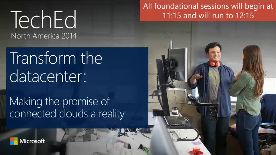 Transform the Datacenter: Making the Promise of Connected Clouds a Reality
