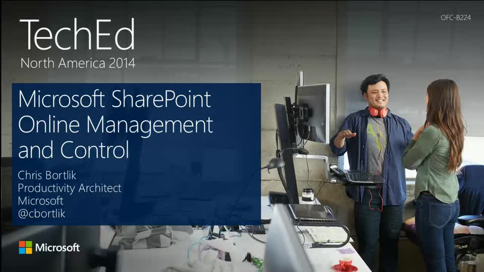 Microsoft SharePoint Online Management and Control