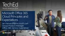 Microsoft Office 365 Cloud Principles and Expectations