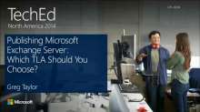 Publishing Microsoft Exchange Server: Which TLA Should You Choose?