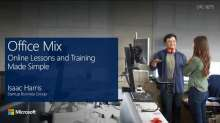 Office Mix: Online Lessons and Training Made Simple