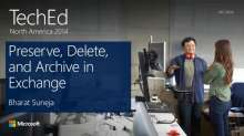 Preserve, Delete, and Archive in Microsoft Office