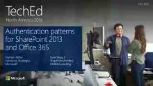 Authentication Patterns for Microsoft SharePoint 2013 and Office 365