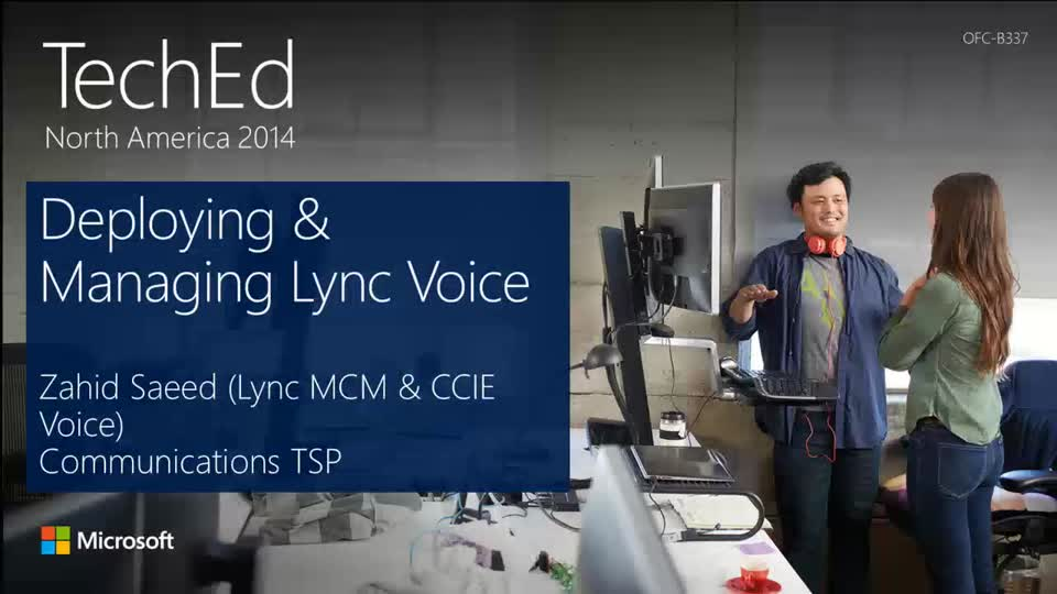 Deploying and Managing Microsoft Lync Server 2013 Enterprise Voice