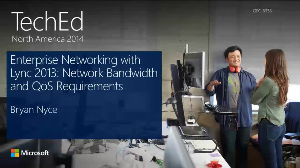 Enterprise Networking with Microsoft Lync Server 2013: Network Bandwidth and QoS Requirements