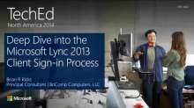 Deep Dive into the Microsoft Lync 2013 Client Sign-in Process