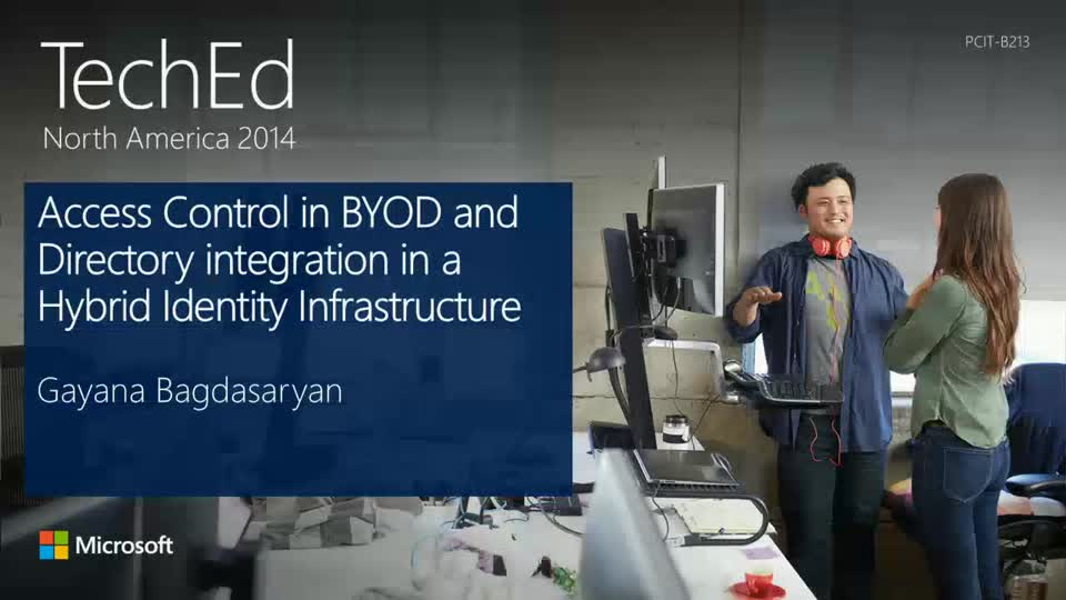 Access Control in BYOD and Directory Integration in a Hybrid Identity Infrastructure