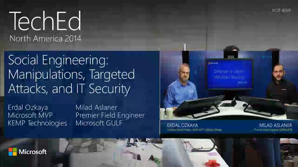 TWC: Social Engineering: Manipulations, Targeted Attacks, and IT Security