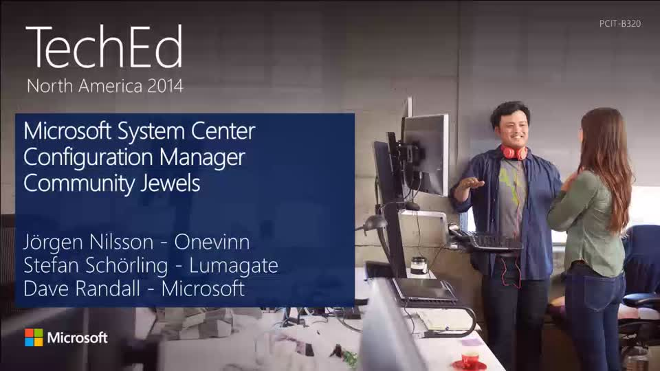 Microsoft System Center Configuration Manager Community Jewels