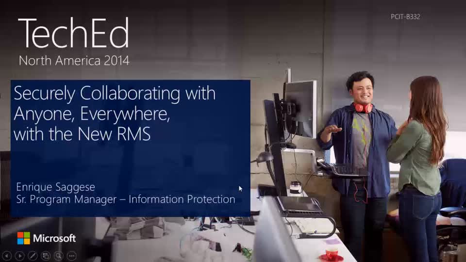 Securely Collaborating with Anyone, Everywhere, with the New RMS