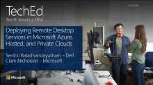 Deploying Remote Desktop Services (RDS) Roles in Microsoft Azure and Private Cloud