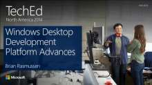Windows Desktop Development Platform Advancements