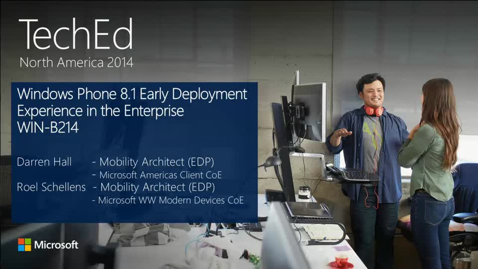 Windows Phone 8.1 Early Deployment Experience in the Enterprise